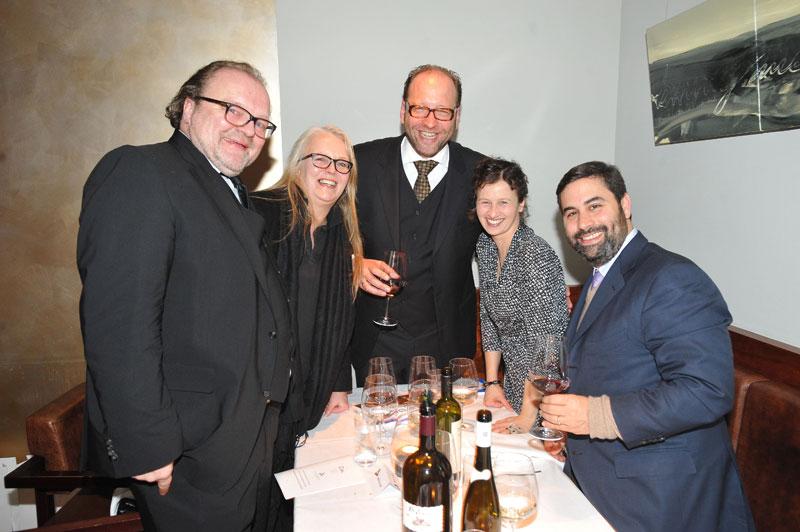 Stefan Arndt (X Filme), Manuela Stehr, Alexander van Dülmen, Elisabeth Bartel, Glen Basner (FilmNation)