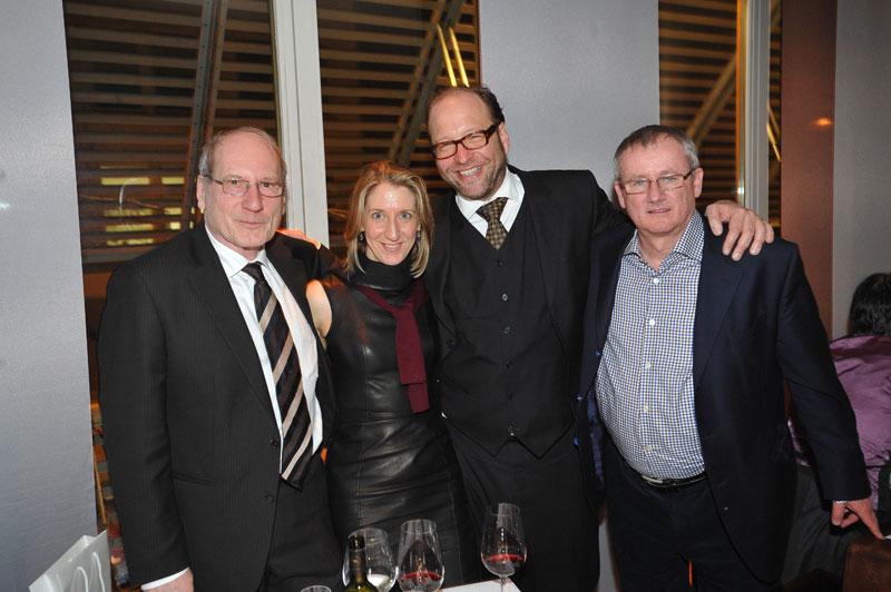 Reinhard Klimmt, Mimi Steinbauer (Radiant Films), Alexander van Dülmen, Michael Schlicht (Sony Russia)