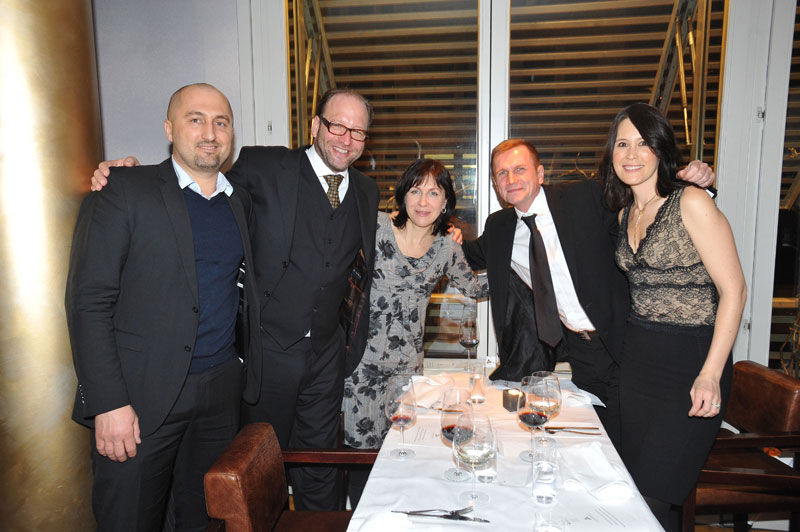 Johannes Götz, Alexander van Dülmen, Beata Ryczkowska (Canal+ Poland), Tomasz Karczewski (Kino Swiat), Anne-Marie Ross (Lionsgate)