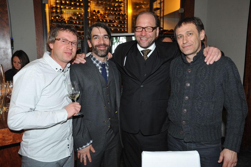 Zilvinas Naujokas (ACME), Michael Rothstein (TWC), Alexander van Dülmen,Igor Rakonic (Discovery)