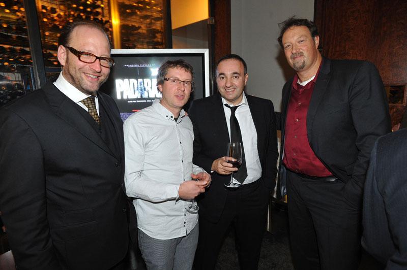Alexander van Dülmen, Zilvinas Naujokas (ACME), Alexander Rodnyansky (AR Films), Stede Ingram (ACME)