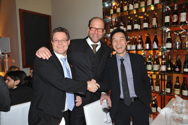 Achim Thielmann (Commerzbank), Alexander van Dülmen, Yu-Fai Suen (Aramid)
