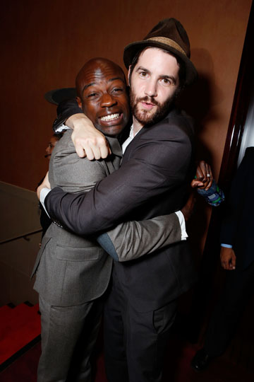 David Gyasi and Jim Sturgess