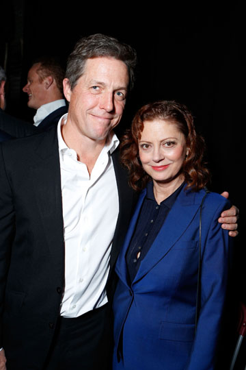 Hugh Grant and Susan Sarandon